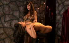 Mistress L.A. With Hot Slave Girl C.C.