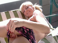 This European Cutie Knows That People Want To See Her Finger Herself