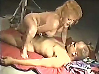 Just An Extremely Slutty Blonde Cougar Who Loves Creampie