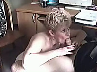 A Blonde Milf Whore Really Needs This Job And Gives Me Head